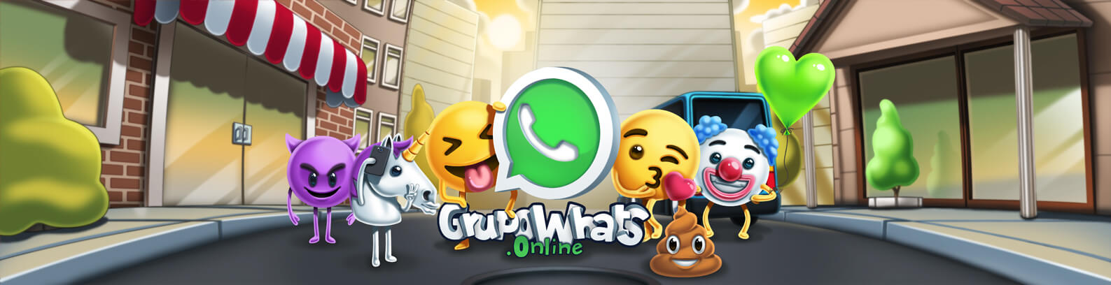 Links para grupos do Whatsapp - GrupoWhats.online